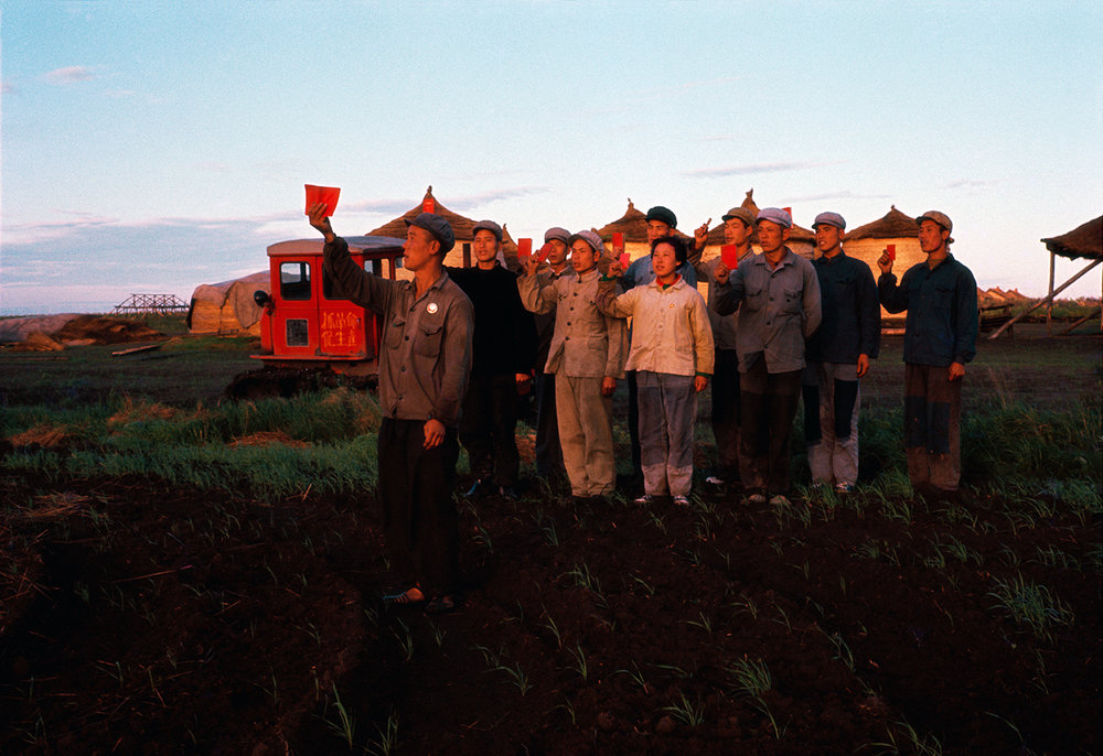 Weng Naiqiang , Scene in the Northeast Heilongjiang province, 1968 © Weng Naiqiang, courtesy of the artist and 798 Photo Gallery, Beijing