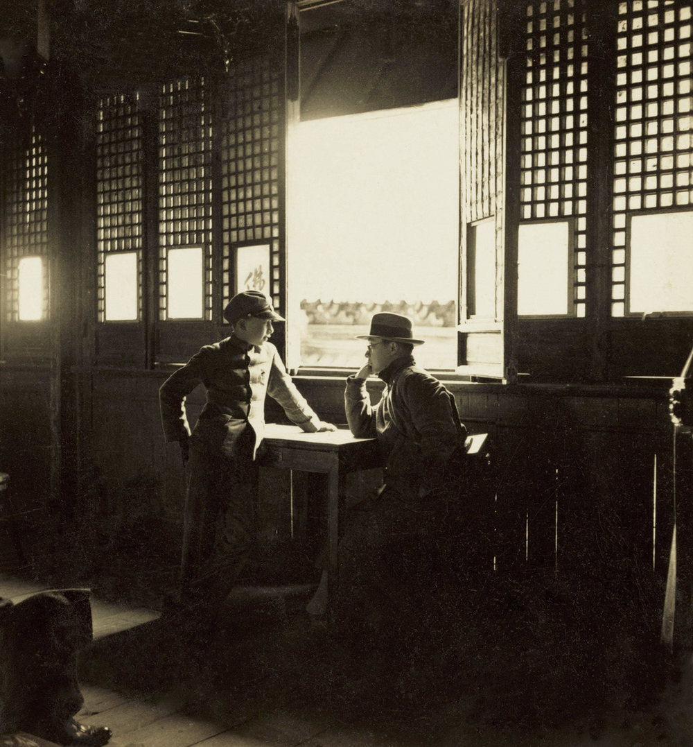 扬州大明寺, Daming Temple in Yangzhou, 1935 / Courtesy of Jin Hua