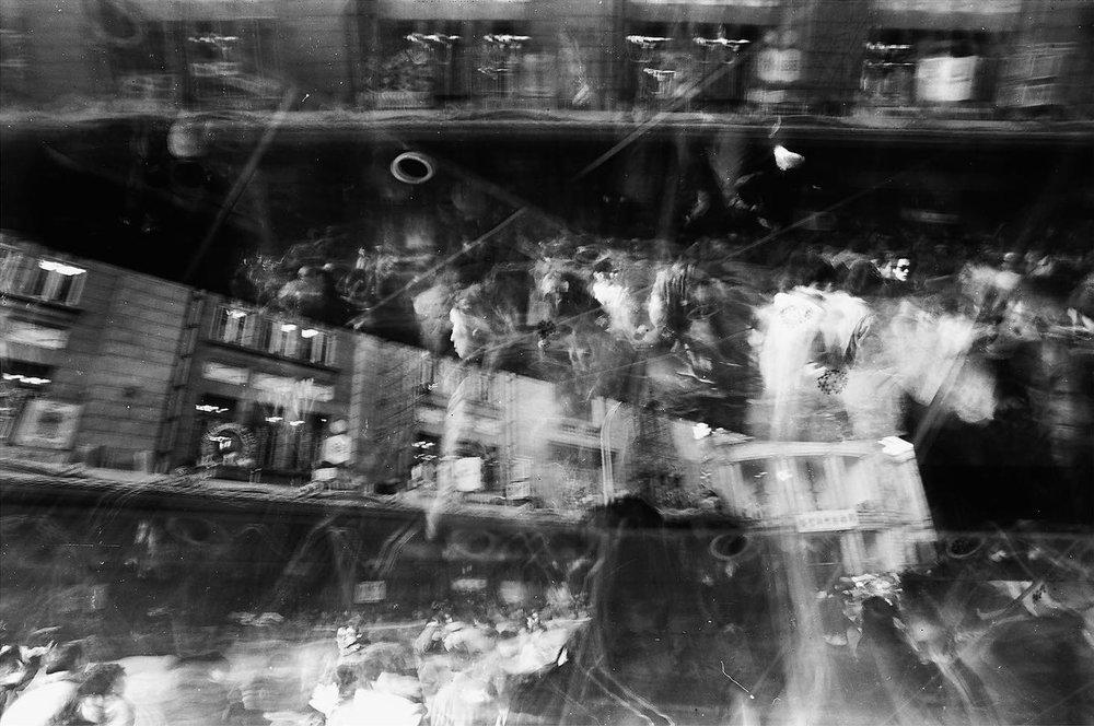 """Commotion"" (骚动) series, 1987 © Moyi / Courtesy of Léo de Boisgisson"