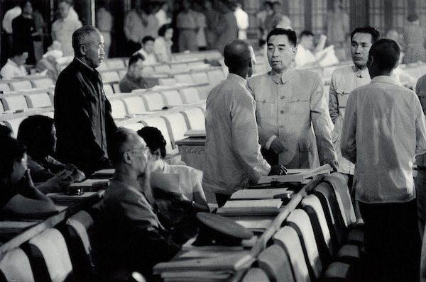 Chou En-lai meeting other deputies to NPC, Peking, China, 1956 | Courtesy of Tom Hutchins Images Ltd., New Zealand