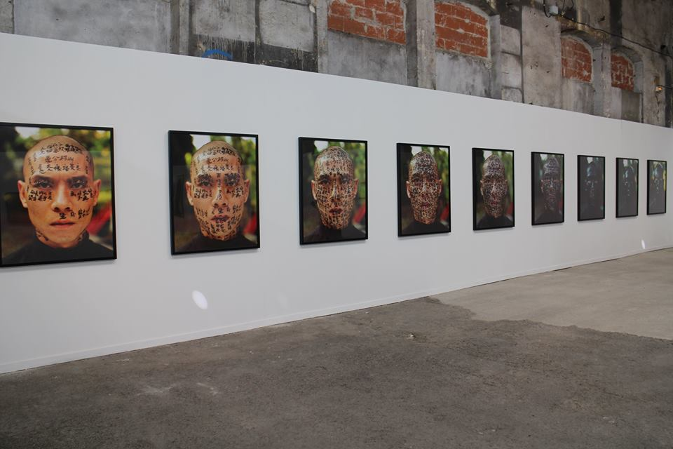 """Zhang Huan's """"Family Tree"""" series, exhibition view at the Rencontres d'Arles 2018 