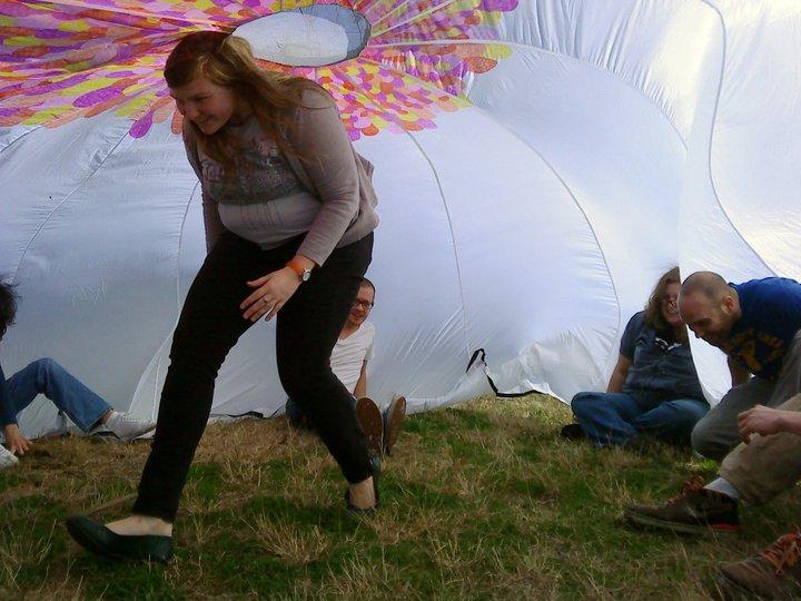 Play Parachute, 2010, Savannah GA