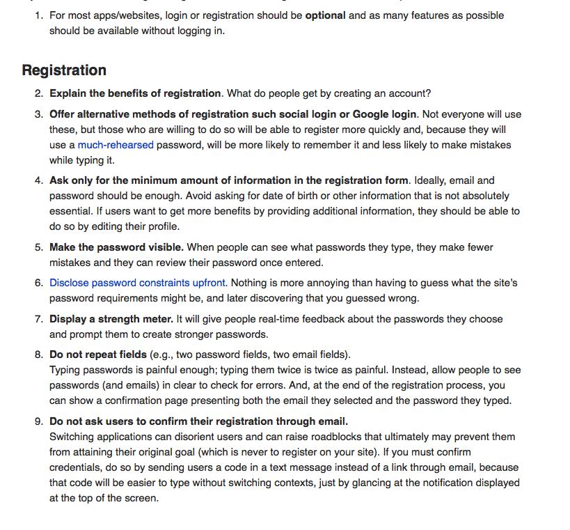 https://www.nngroup.com/articles/checklist-registration-login/