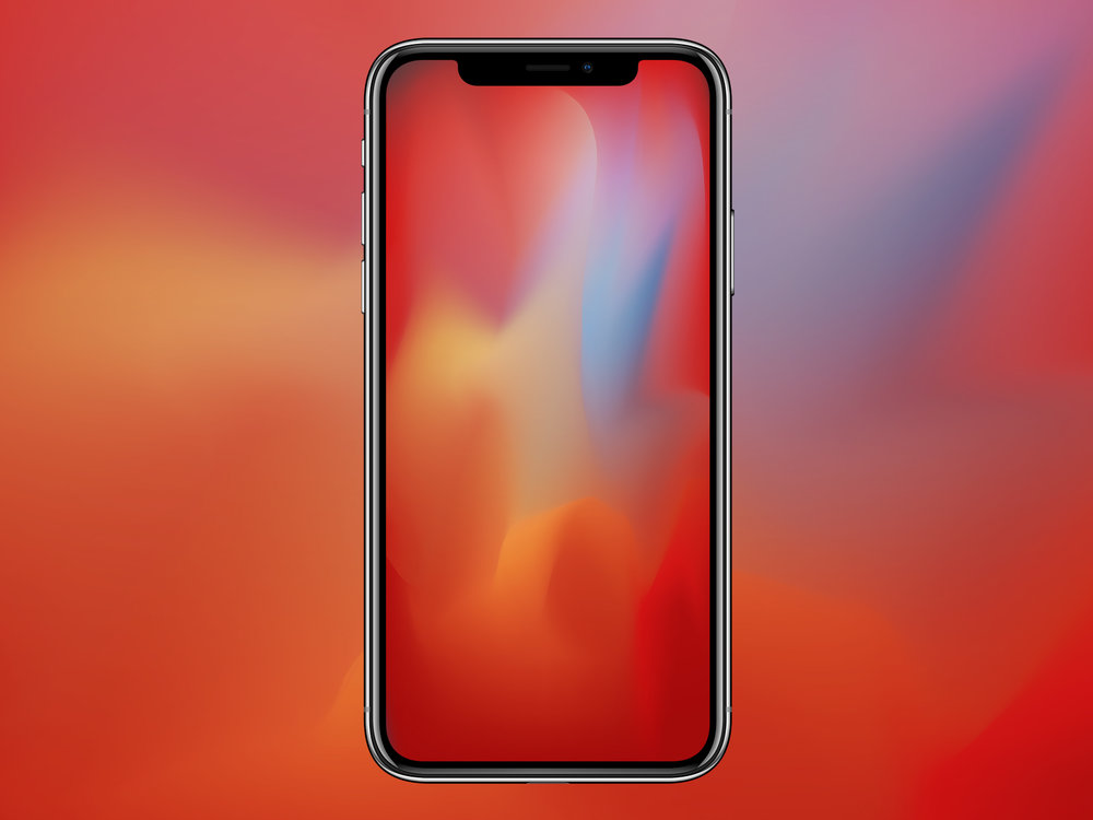 IGN Organic Gradient iPhone X Wallpaper