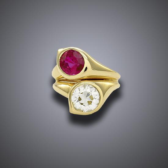 Boivin Toi et Moi Ring