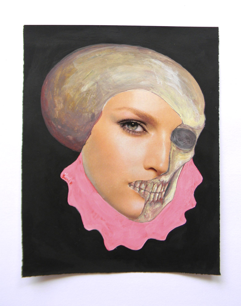 Pink collar girl