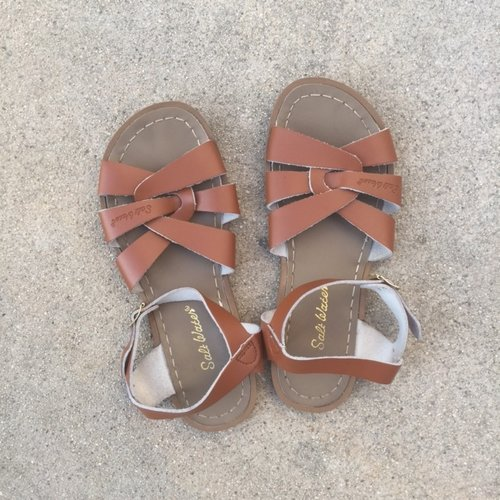 e369f4ea787b Brand new saltwater sandals size 5 — EITHER WAY LA Salt Water Sandals