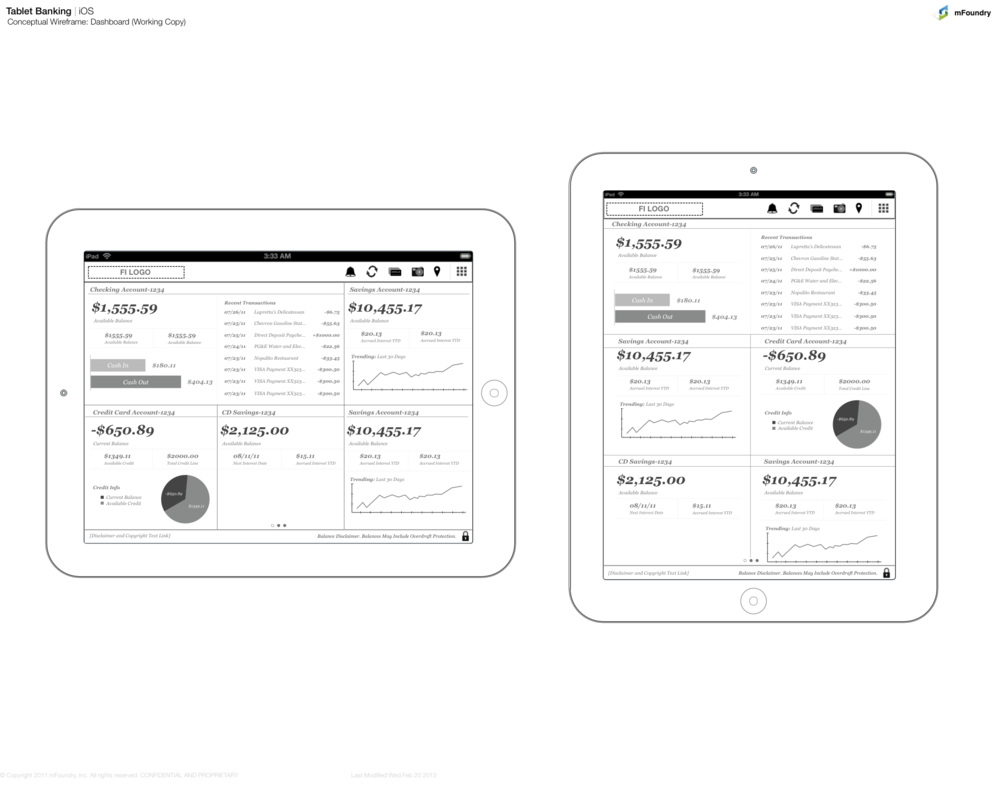 After the idea comes together on paper, I usually move to the trusty black-and-white wireframes. If there are holes in the user experience that might have slipped through the early pen/paper concepts, they're sure to be found and filled in this round of meticulous architecture.