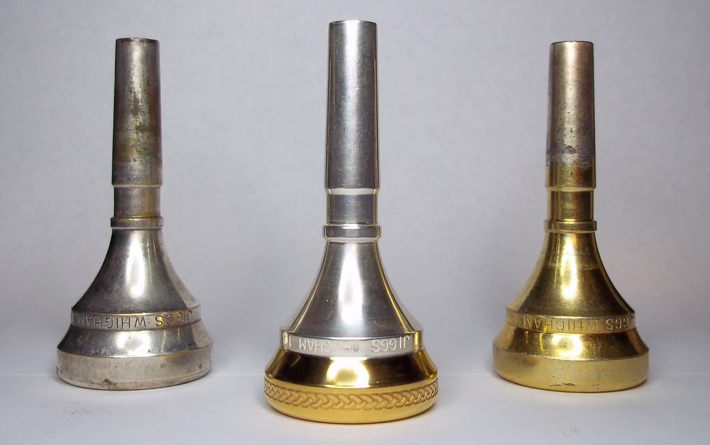My three King Jiggs Whigham mouthpieces