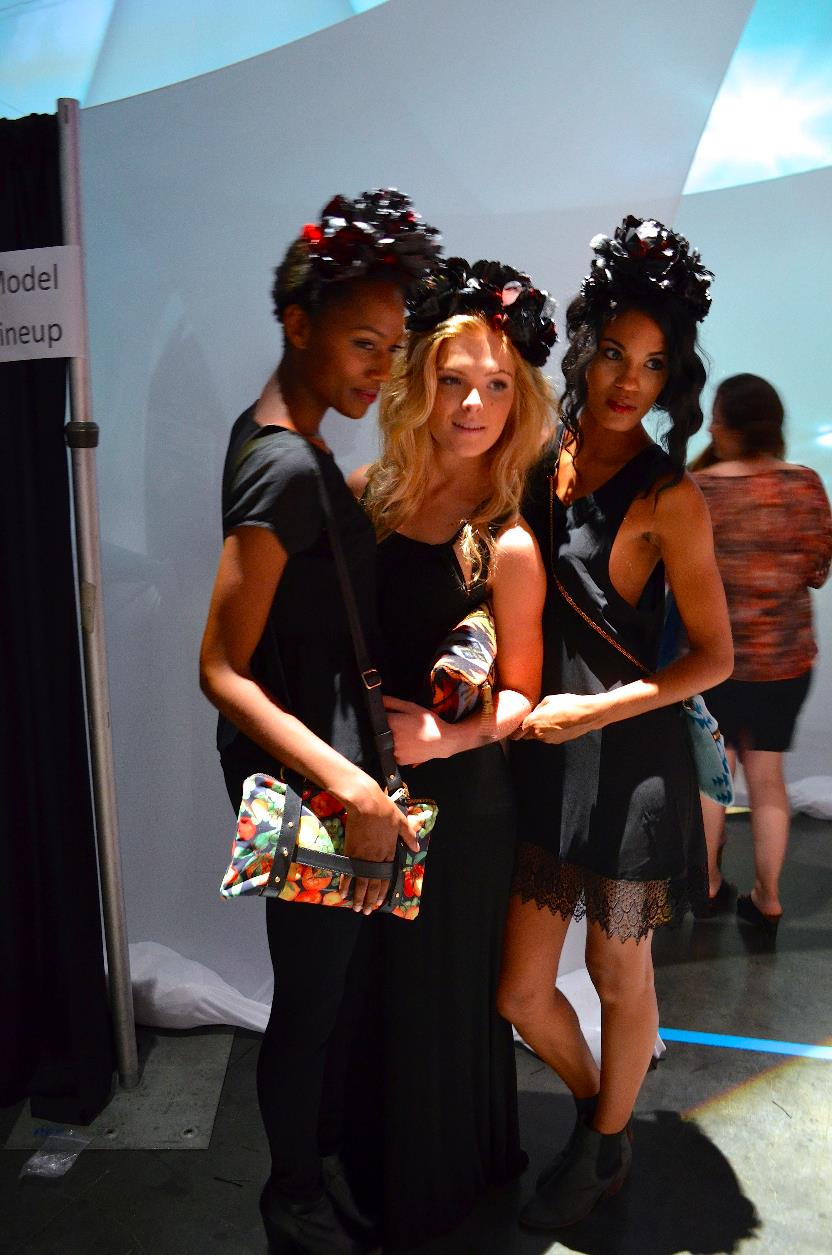 Clarke, Shaedyn and Maria, our wonderful models!