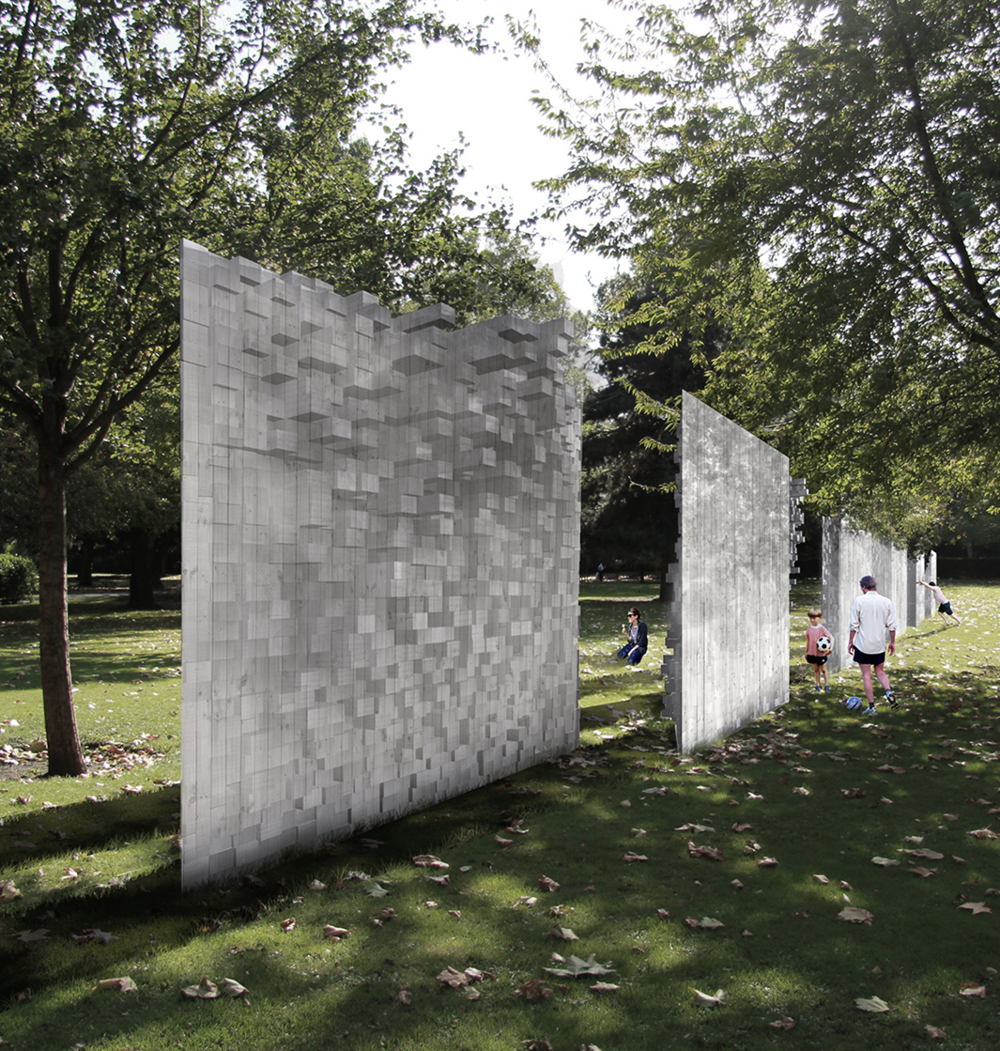 THE WALL Arch Triumph Pavilion Team: A.Kulik, G. Badalacchi