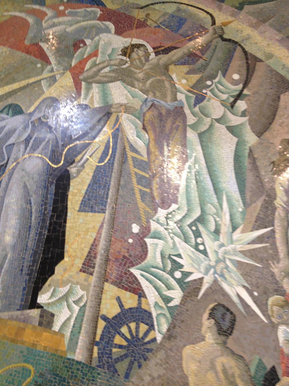 Queens Criminal Court Mosaic