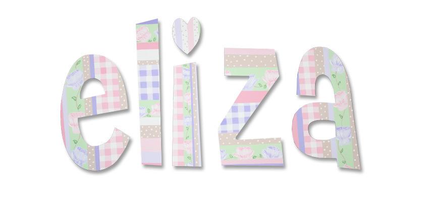 "ELIZA -8"",Font: Cheri"
