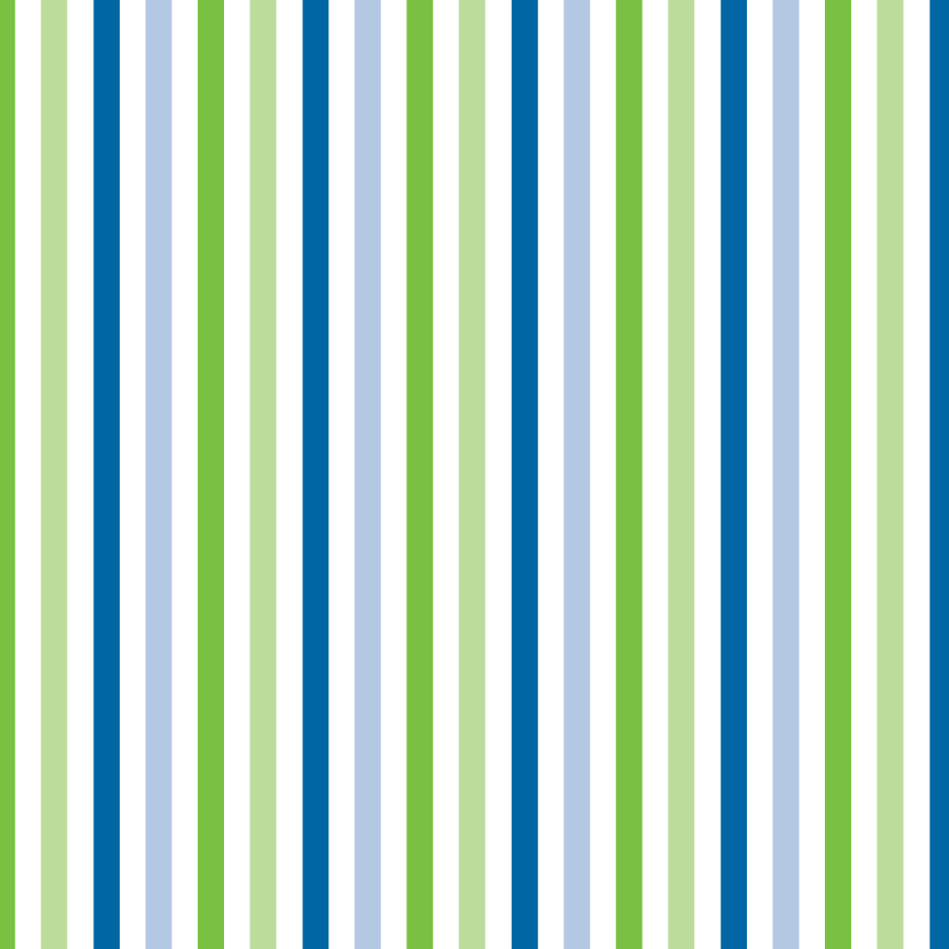 Blue Green And Grey Living Room: Green And Blue Stripes