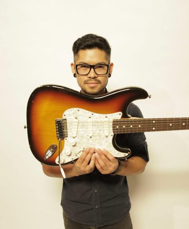 Sarven Manguiat (Guitars/Keyboards/Vocals)