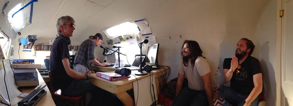 Radio time with KNCE 93.5 in Taos, NM!