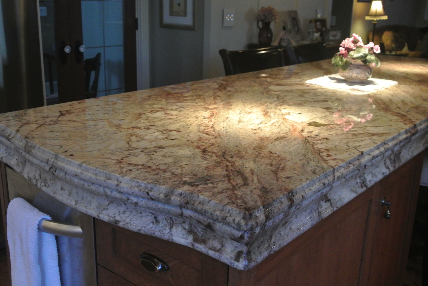 Typhoon Bordeaux Granite Kitchen ~ picgit.com
