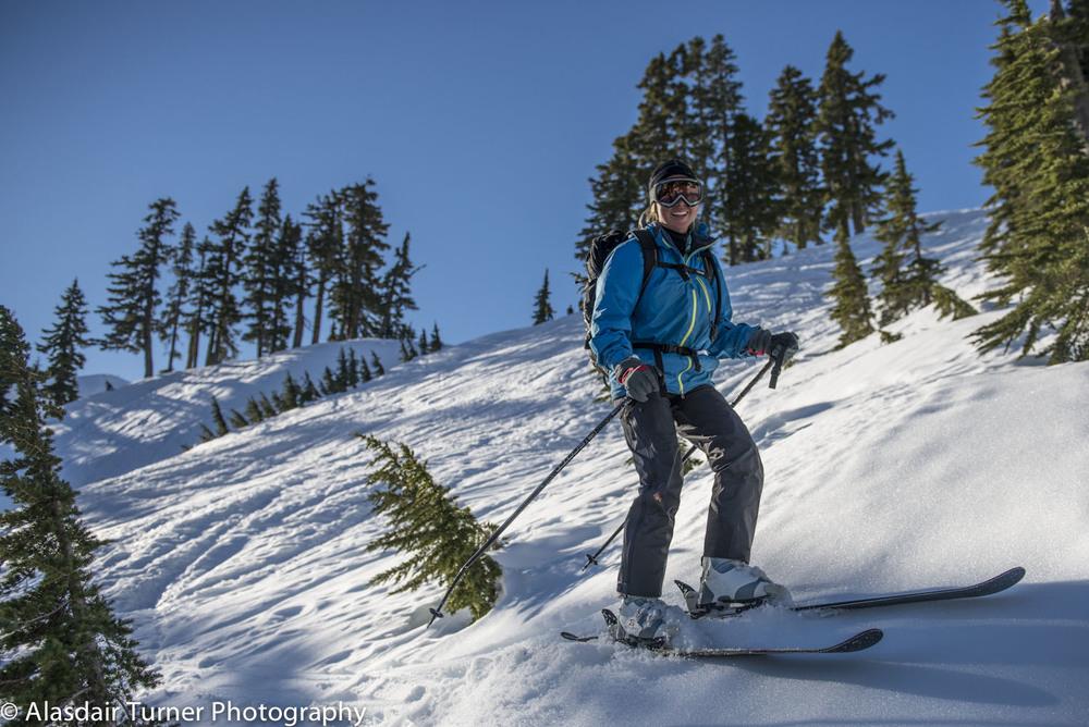 Time to ski.