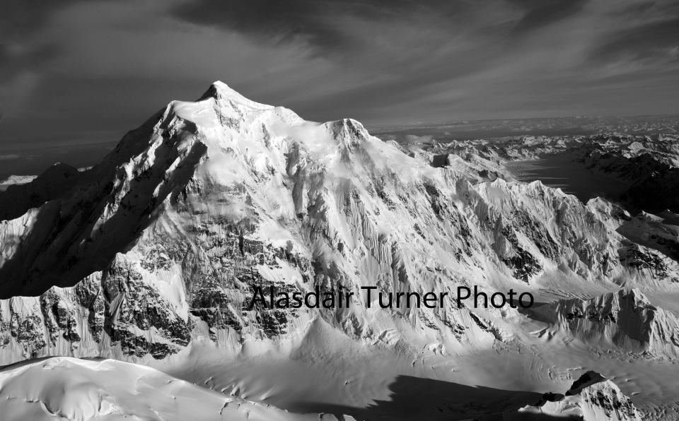 Mount Hunter, Alaska.  Shot from a Cessna.