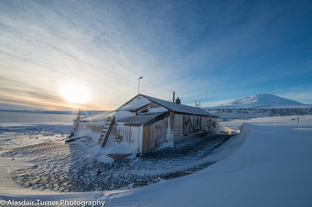 Captain Robert Falcon Scott's Terra Nova Hut, Cape Evans, Antarctica.