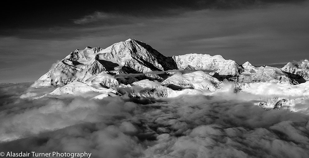 Denali from the west.  This print can be purchased at  http://alasdairturner.com/order-prints/