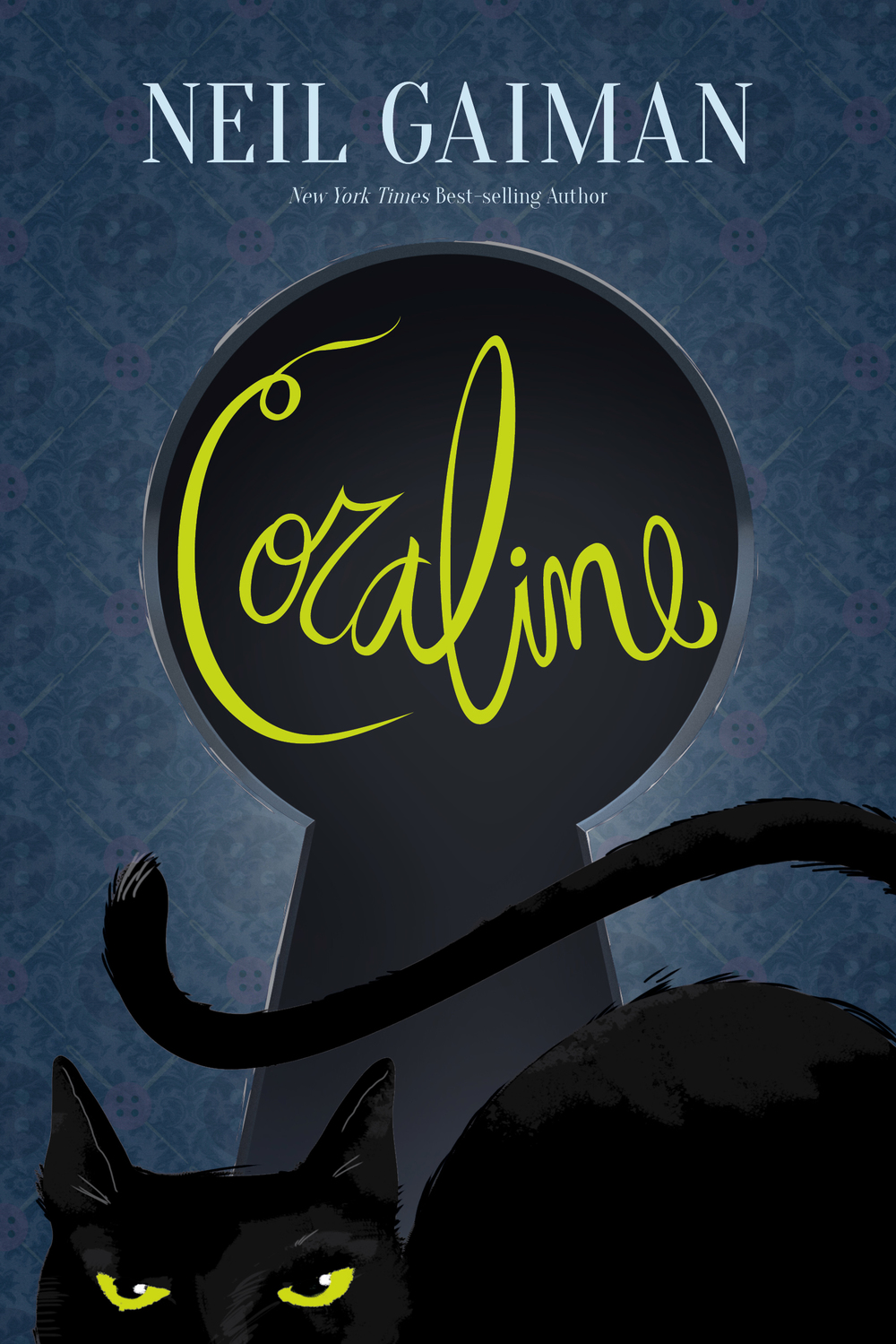 Coraline Cover Concept - Personal Project