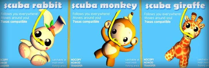 scuba-animals