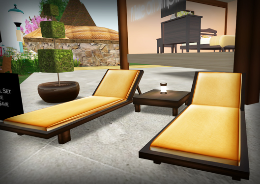 chaise set