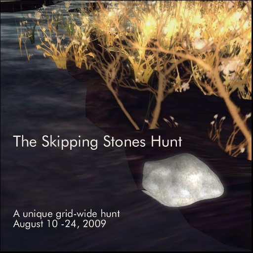 The Skipping Stones Hunt Poster