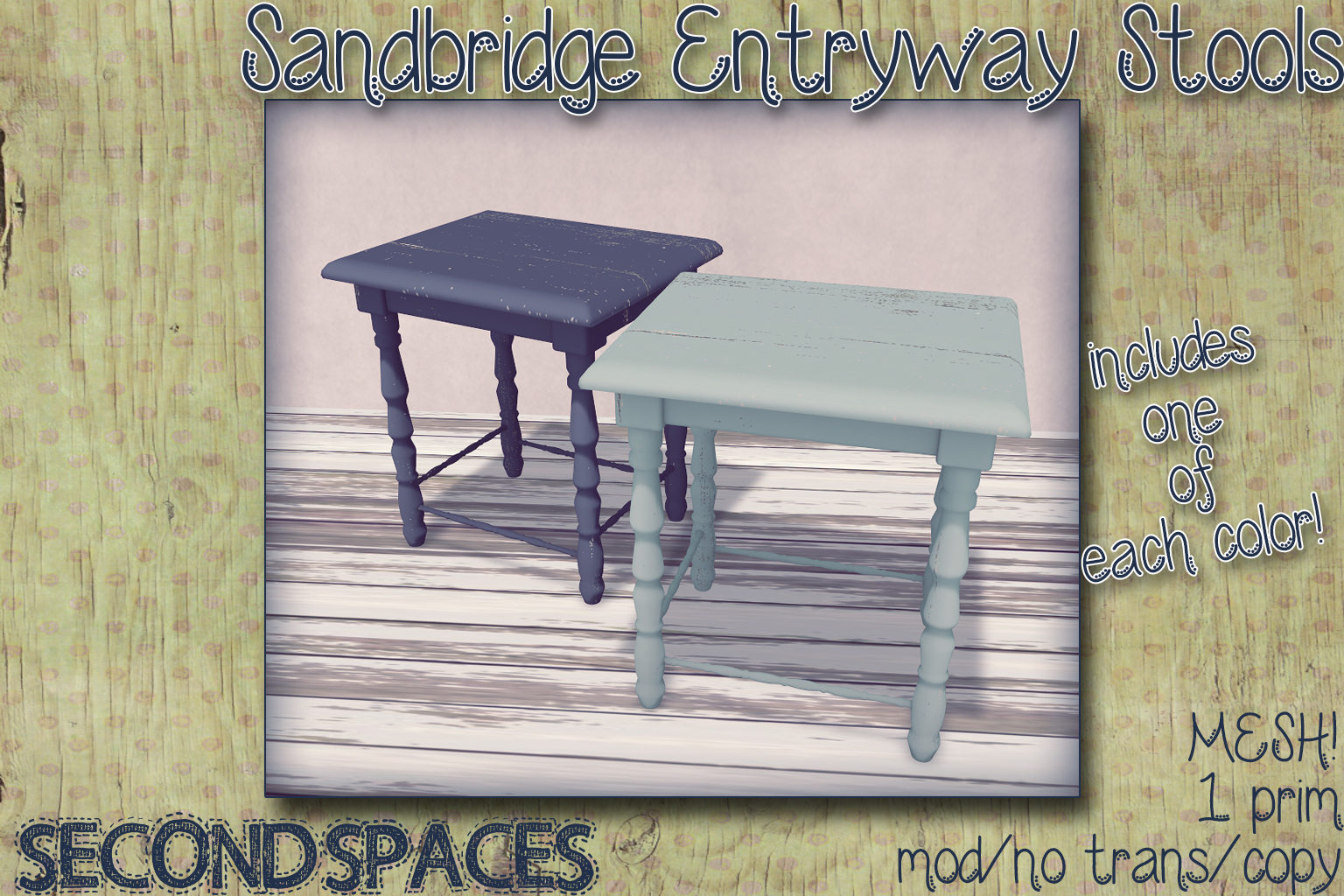 sandbridge stools_vendor