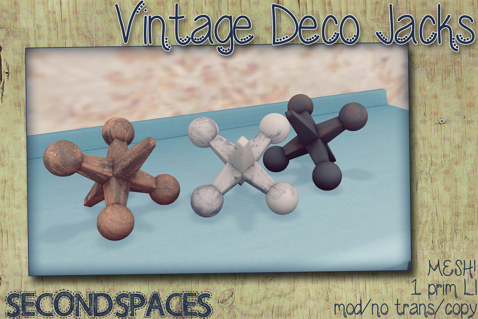 vintage deco jacks_vendor