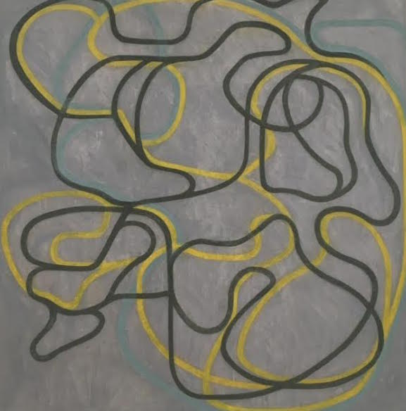 Brice Marden, Epitaph Painting I, taken at SF MOMA