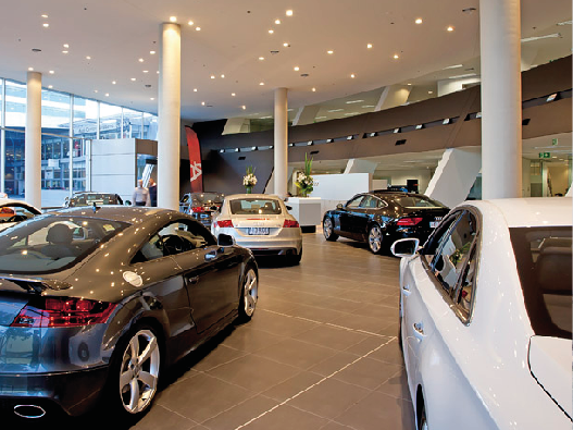 Audi Dealership  Fortitude Valley