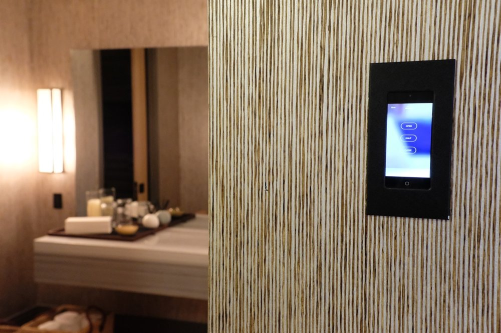 We can help you incorporate touch screen interfaces that control your technology in any room.