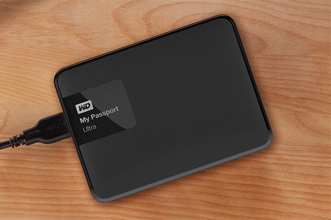 WD Hard Drive - Western Digital Ultra Portable 1TB Hard Drive Losing all your files sucks. Backing up your stuff to an external hard drive is the best and easiest way to make sure you're covered if disaster strikes your laptop. Amazon Price: $109.95