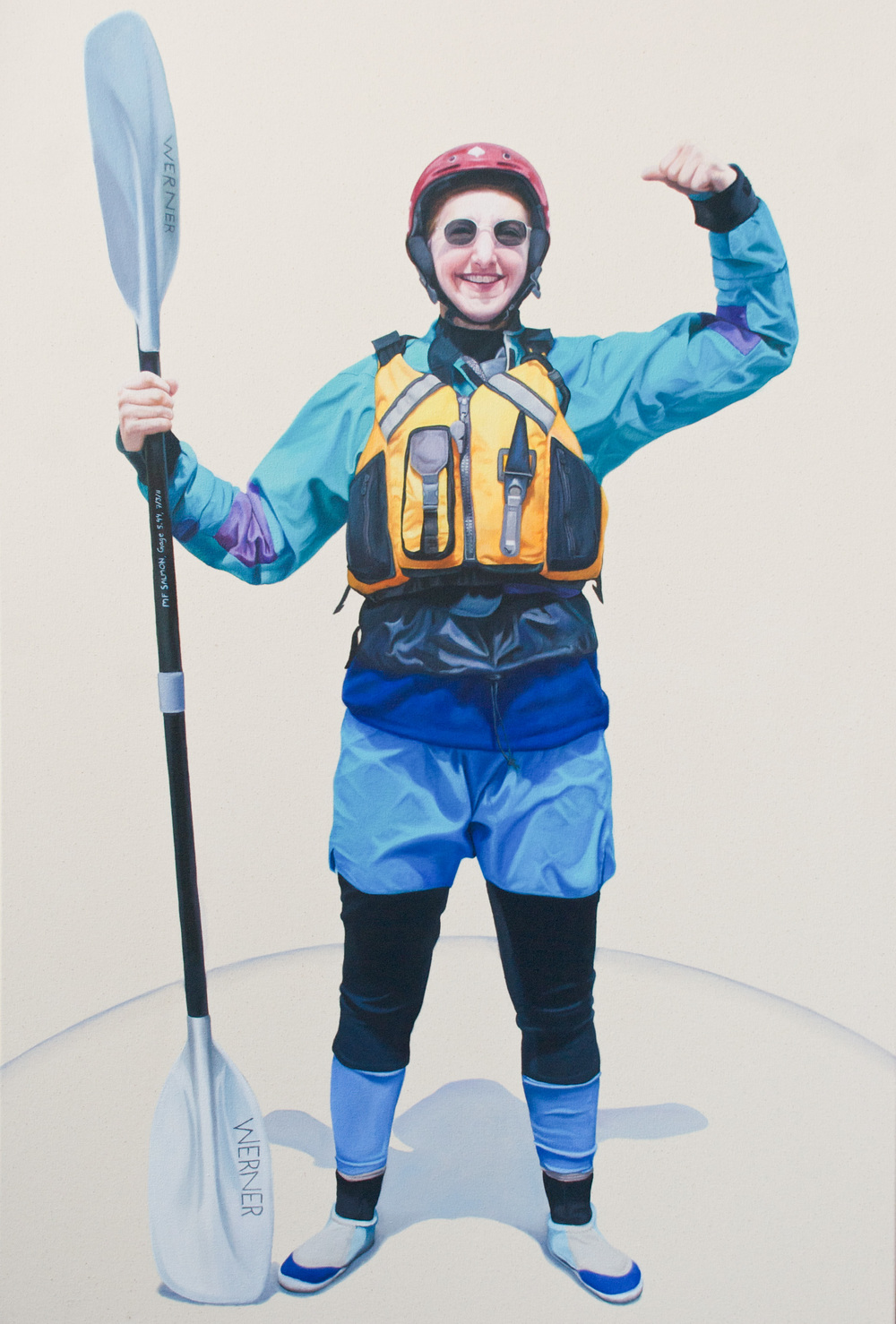 "Oil on canvas   35 x 52"""