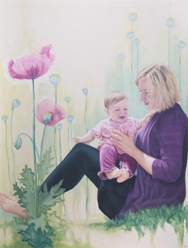 "Oil on canvas   24 x 36"""