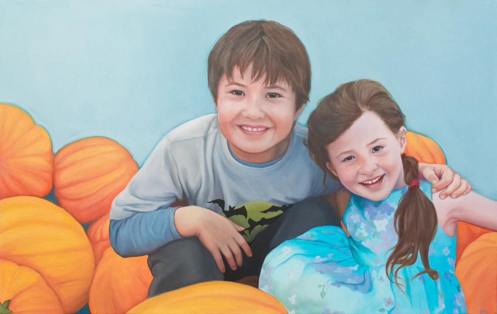 "Oil on canvas   24 x 38"""