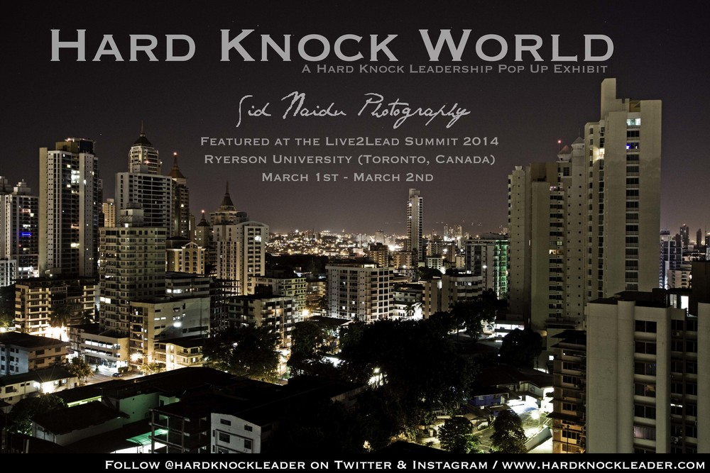 Hard Knock World Exhibit - Sid Naidu Photography (c) 2014