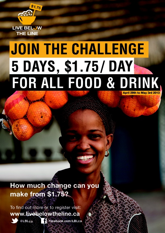 Can you survive below the poverty line? Take the challenge!