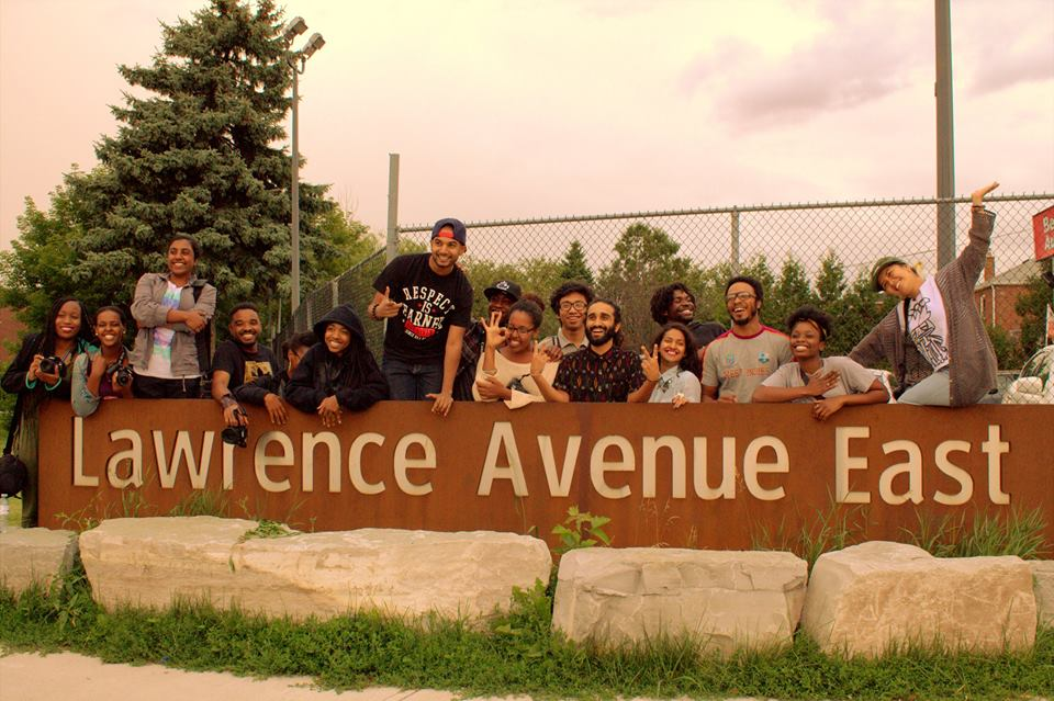 Shot of the #WeAreLawrence program captured by one of our youth participants Petrose Tesfai