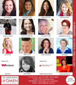 Women in Leadership Driving Change 2016