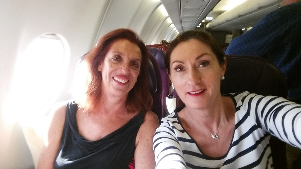 En rout to Malaysia with karen Livey