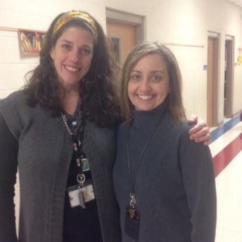 Literacy Facilitator, Lea Ellen Jones, and 5th grade teacher, Carla Nelson, Rogers Public Schools, Arkansas