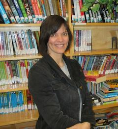 Teacher and Librarian, Stefanie Cole