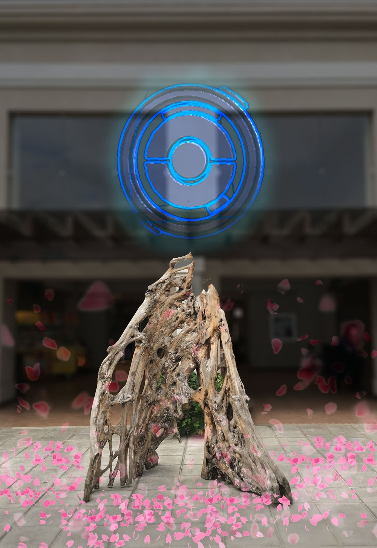 Uno de nuestros conceptos que no se desarrolló: crear un PokéStop en el mundo real.