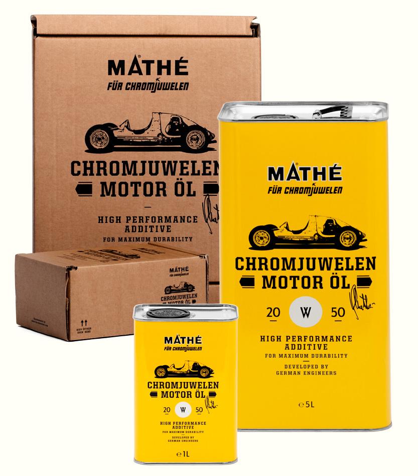 Chromjuwelen Motor Öl 20W-50 Bundle — jetzt bestellen