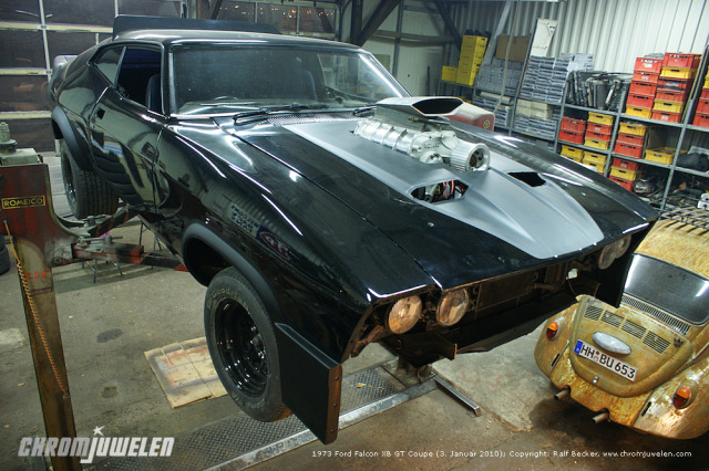 1973 Ford Falcon Xb Gt Coupe Mad Max Movie Correct