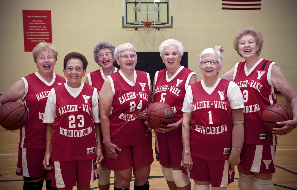 The Fabulous 70s Senior Women's Basketball Team