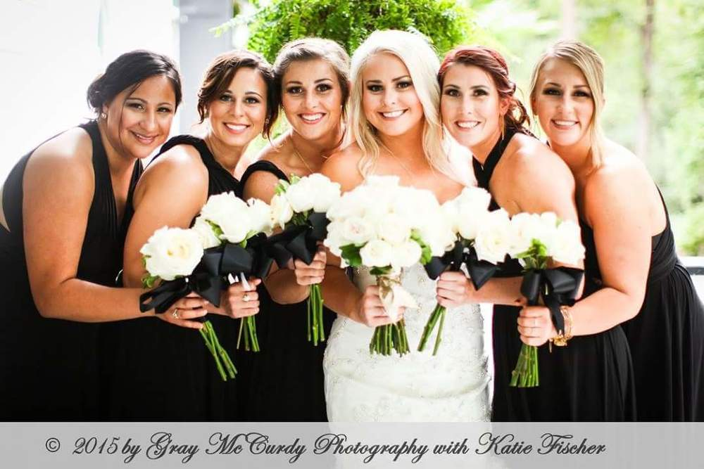Wedding Party Florist by Blue Ivy Flowers, Chattanooga, TN